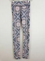 THE UPSIDE   Womens Print  Leggings / Pants [ Size XS or AU 8 / US 4 ]