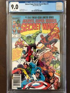 Marvel Super Heroes Secret Wars Limited Series #1, May 1984, Marvel Comics, CGC