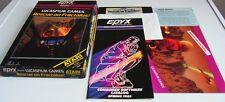 Atari XL: Rescue on Fractalus! - Lucasfilm Games 1985