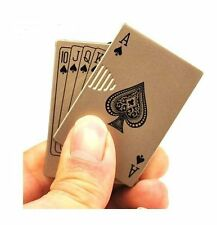 Metal Windproof Cigarette Gas Lighter - Playing Cards (Ace)