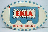 EKLA BIERE BELGE Sign Old Belgium Beer Bar Pub Tavern Liquor Store Advertising