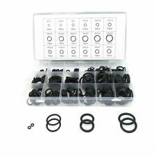 279PCS Universal Rubber O-Ring Assortment Set Gasket Automotive Seal Kit Black