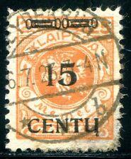 MEMEL 1923 170 PF VI gestempelt TOPPRARITÄT ATTEST BPP ca 4000€ (Z8081