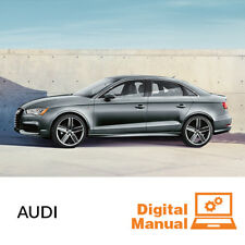 Audi - Service and Repair Manual 30 Day Online Access