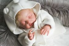 """REBORN BABY DOLL, Chloe by Debbie De, 21"""" with accessories, Indie from Ireland"""