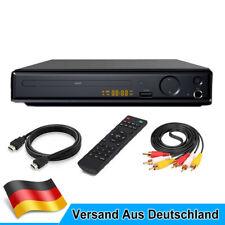 1080P UHD DVD Player VCD CD Spieler mit Fernbedienung USB HDMI AV  für TV Player