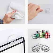 Shower Corner Rack Wall Shelf Basket Kitchen Accessories Punch Free Bathroom HO3