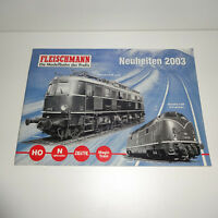 Fleischmann Katalog 2003
