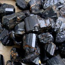 50g/pack Mineral Cristal Natural Piedra Preciosa Rough Rock Turmalina Negra