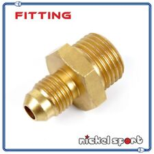 M16 x 1.5 to 4AN AN4 Straight Male to Male Fitting Adapter