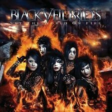 Set the World on Fire Black Veil Brides CD 2011 Universal Limited Edition Poster