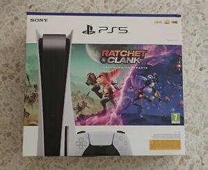 Sony PS5 Blu-Ray Edition Consola - Blanco + Ratchet & Clank