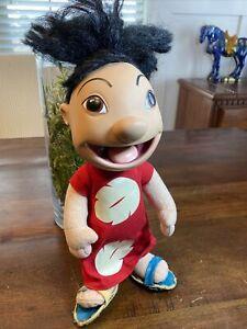 """Vintage Disney Store LILO & Stitch 12""""LILO Doll! Plush Body Vinyl Head RARE! HTF"""