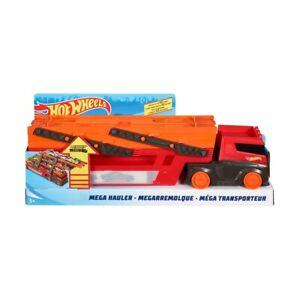 Hot Wheels Mega Hauler Lamborghini Toy Truck Play Car Race Boys Track Ages 4+