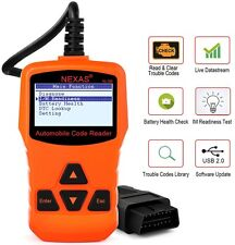 2017 NEXAS Engine Light Scan Tool OBD2 LIVE DATA Read & Clear Codes New Version!