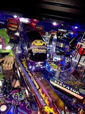 "8.6"" Aerosmith Pinball Machine ""PURPLE"" TOUR BUS MOD 9 LEDS"