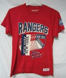 New York Rangers Men's Small 2012 Winter Classic Mitchell & Ness T-Shirt A1 634