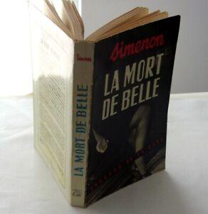 Georges Simenon La mort de belle EO 1954