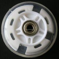 LED FLASH WHEEL MINI or MAXI MICRO SCOOTER FLASHING LIGHTS BACK REAR ABEC-7 80mm