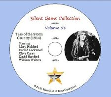 """DVD """"Tess of the Storm Country"""" (1914) with Mary Pickford, Classic Silent Drama"""