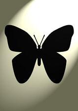 Shabby Chic Stencil Farfalla singolo ripetibile VINTAGE a4 297x210mm Muro in Mylar