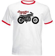 HONDA SCRAMBLER CB 550 1 Ispirato-Nuovo T-shirt Cotone-Tutte le taglie in magazzino