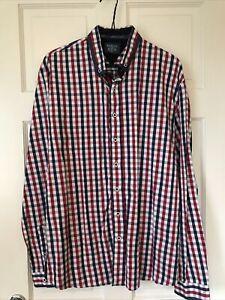 Mens Bewley&Ritch Checked Shirt Size XL