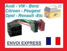 Voiture Radio Adaptateur Câble Set ISO Douille f VW New Beetle Type 9C./1Y