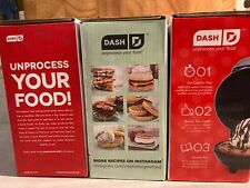 "Dash Mini 4"" Lot of 3- Mini Maker Grill, Griddle, Waffle Maker- New & Free Ship!"