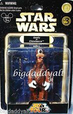 NEW Disney Star Wars Tours Goofy as Chewbacca Figure Series 3 Parks Exclusive