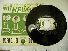 "THE LIMELIGHTHS""DOPO DI LEI-disco 45 giri BENTLER 1967"" BEAT Italy/UK"