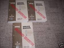 1998 PONTIAC BONNEVILLE BUICK LESABRE Olds 88  Service Shop Repair Manual Set