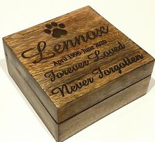 PET CASKET PET URN PET MEMORIES BOX DOG Pet Ashes Casket