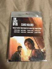 The Last Of Us Rare Promo Wallet Ps4 Joel Ellie Playstation Experience
