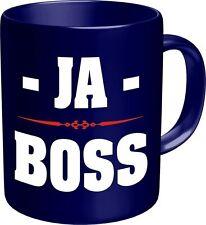 Kaffee Becher Tasse Ja Boss Chef Kaffeebecher Mug