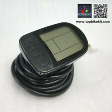 ebike LCD display meter KT-LCD5 Display 24V/36V/48V Meter Control Panel black