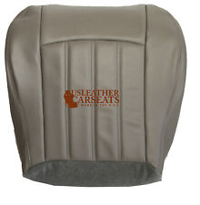 2005-2010 Chrysler 200 300 Driver Side Bottom Leather Seat Cover Gray Stone