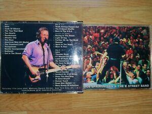 3 CD LIVE Bruce Springsteen E Street Band Saturday Night MADISON SQUARE NY 2000