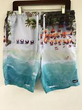 Neff Swim Trunks Large With Multicolored Graphic