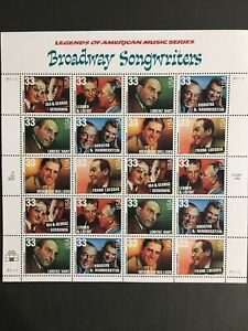 1999 sheet American Music Series: Broadway Songwriters Sc# 3345-3350