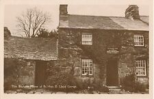 POSTCARD   POLITICS      David  Lloyd  George     Boyhood  Home