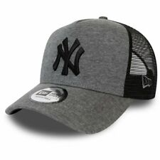 New Era Adjustable Trucker Cap - JERSEY NY Yankees graphite