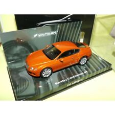 BENTLEY CONTINENTAL GT 2011 Orange MINICHAMPS 1:43