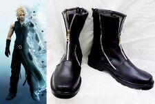Final Fantasy VII FF 7 Cloud Strife Cosplay Schuhe Kostüm Shoes Stiefel boots