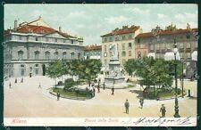 Milano Città Piazza della Scala cartolina XB2349