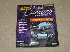 Johnny Lightning Camaro Collection 1967 RS/SS 396 Blue 1:64 MOC 1999