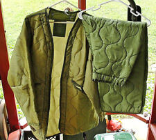 USGI Liner Night Camouflage Parka Desert Medium Jacket & Trousers Set MINT !!!