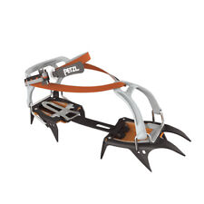 Petzl Irvis Crampons With 10 Jags For High And Ski Tours