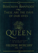 "QUEEN ""IN MEMORY OF"" FREDDIE MERCURY 1946-1991 PIANO/VOCAL/GUITAR MUSIC BOOK NEW"