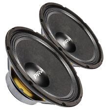 "Pair PRV Audio 10W450-4 10"" Professional Woofer 4 ohms 450 Watts 93 dB 2"" Coil"